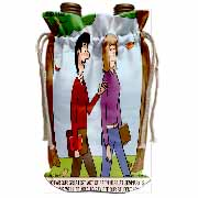 Test of Faith at Seminary in the Form of Student Loans Wine Bag