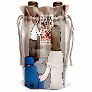 Eye Chart Word Search - Visit to the Eye Doctor Wine Bag