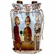 Dr. Jane Goodalls 50th anniversary at GDI - monkey business Wine Bag