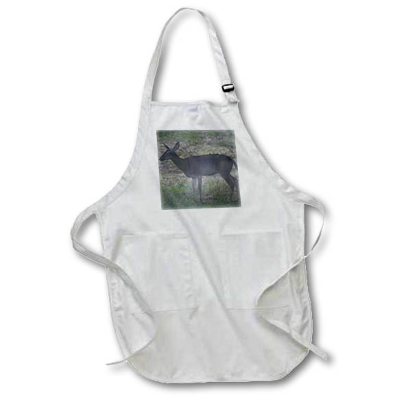 3dRose - Patricia Sanders Photography - Meadow Deer- Nature- Animals- Photography - Aprons at Sears.com
