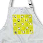 click on Chicken Dance Print White and Yellow to enlarge!