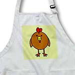 click on Cute Brown Chicken with Green Background to enlarge!
