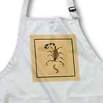click on This design features a deadly scorpion of the desert along with his prey the centipede to enlarge!