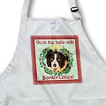click on Deck the Halls with Border Collies to enlarge!