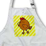 click on Chicken Dance Brown with Yellow Stripes to enlarge!