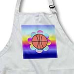 click on Basketball Flower on Rainbow to enlarge!