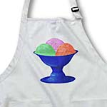 click on Ice Cream Sherbet in Blue Bowl to enlarge!