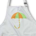 click on Baby Shower Umbrella Orange Green to enlarge!