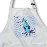 click on Cute Blue and Purple Squid to enlarge!