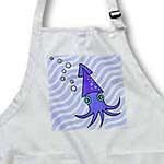 click on Cute Purple and Blue Squid to enlarge!