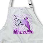 click on Cute Purple Dolphin Purple Ocean to enlarge!