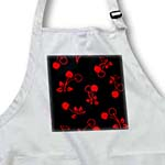 click on RAB Rockabilly Bright Red Cherries on Black to enlarge!