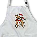 click on Christmas Cute Brown Teddy Bear with Santa hat to enlarge!