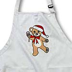 click on Christmas Cute Dancing Brown Teddy Bear with Santa hat to enlarge!