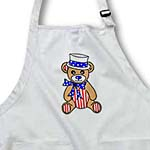click on Patriotic Cute America Teddy Bear Red White and Blue to enlarge!
