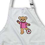 click on Cute Soccer Player Teddy Bear Girl to enlarge!