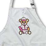 click on Cute Softball Player Teddy Bear Girl to enlarge!