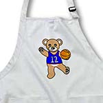 click on Cute Basketball Player Teddy Bear Boy to enlarge!