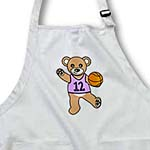 click on Cute Basketball Player Teddy Bear Girl to enlarge!
