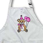 click on Birthday Cute Party Bear with Ballon Pink to enlarge!