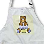 click on Brown Bear With Blue Cupcake to enlarge!