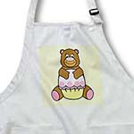 click on Brown Bear With Pink Cupcake to enlarge!