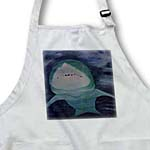 click on Shark in Water Painting to enlarge!