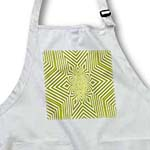 click on Textile Pattern Lime Green And White Large Star to enlarge!