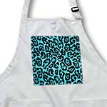 click on RAB Bright Blue and Black Leopard Print to enlarge!
