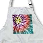 click on Tie Dye 5 starburst tie dye design displays a spectrum of different subtle colors to enlarge!