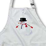 click on Jolly snowman cartoon with top hat and scarf to enlarge!