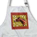click on Digital Oil Painting of horse with brands to enlarge!