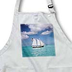 click on Serene Sailboat On Beautiful Ocean to enlarge!