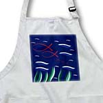 click on Christian Family Ichthys fish family symbol in a pond abstract  to enlarge!