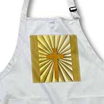 click on Gold Christian Cross on a Gold Sunburst background to enlarge!