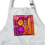 click on DANCING WITH THAT HIPPIE CHICK retro hippie flowerpower psychedellic fractal orange purple to enlarge!