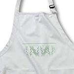 click on Green Elegant Fleur de Lis Design  to enlarge!