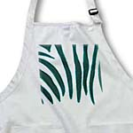 click on Zebra Stripes Print in Turquoise to enlarge!