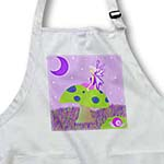click on Cute Fairy Princess Girl on Toadstool with Snail Purple to enlarge!