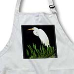 click on Digital Oil painting White Egret in grass to enlarge!