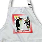 click on Emperor Penguin With Piano And Gifts Merry Christmas to enlarge!