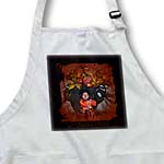 click on A Kitchen Witch Witch and Cauldron picture to enlarge!