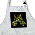 click on Steampunk military khaki green tank floating in space on black background to enlarge!