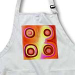 click on Abstract brown suns on a orange pink and yellow background to enlarge!