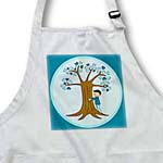 click on Cute Tree Hugger Design Brown and Blue to enlarge!