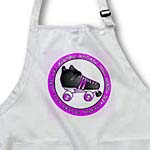 click on Derby Chicks Roll With It Purple with Black Roller Skate to enlarge!