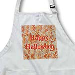click on Happy Halloween on Abstract Orange and Gray to enlarge!