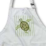 click on Cute Sea Turtle Design Green Stripe to enlarge!