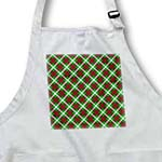 click on Holiday lattice Tartan pattern in red emerald green and white to enlarge!