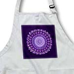 click on lavender and royal purple floral mandala on deep purple background to enlarge!